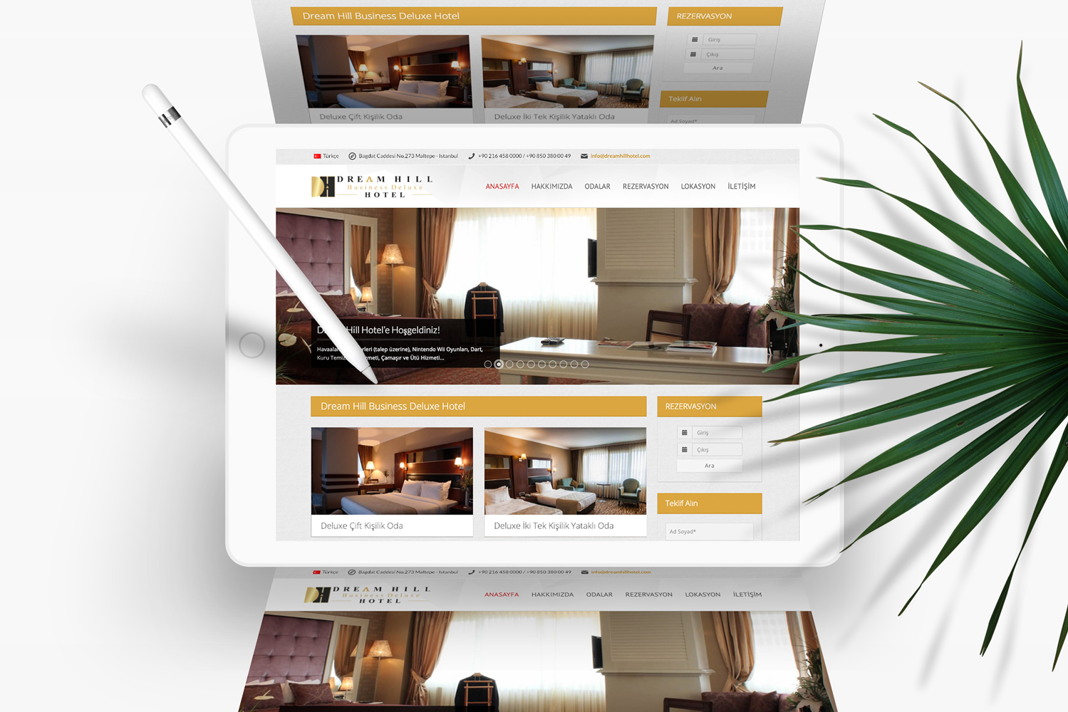 DREAMHILL HOTEL WEB SİTE